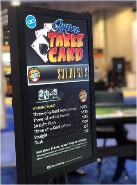 Super Three Card Jackpot