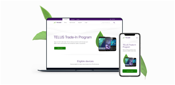 Telus Canada Trade in Program