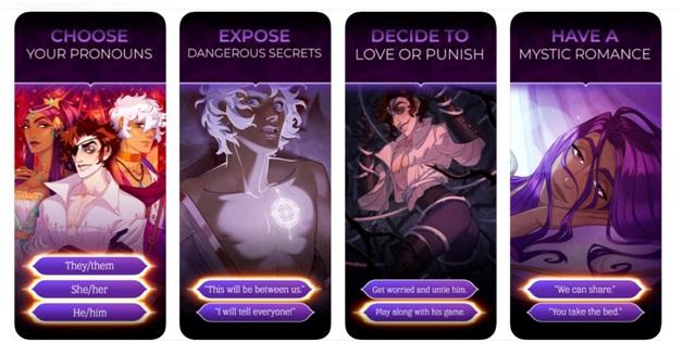 Arcana game app