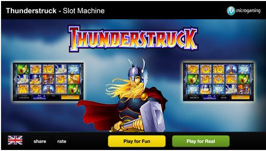 Thunderstruck slot app