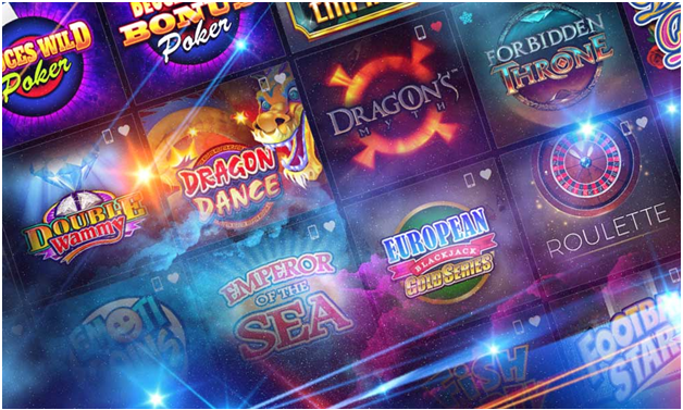 Vegas slot at spin casino canada online