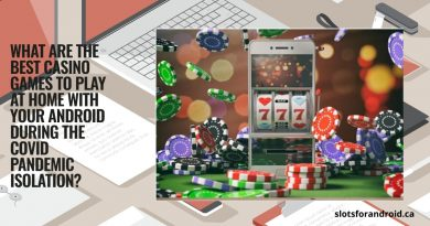 What are the best casino games to play at home with your Android during the Covid pandemic isolation