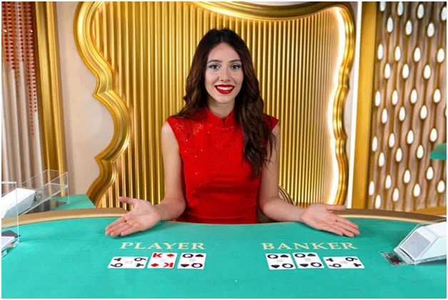 What are the popular Live Baccarat games at live online casinos