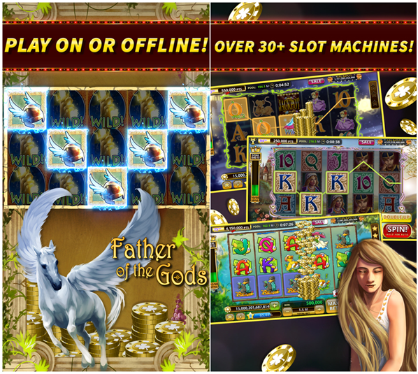 Slot games you can play with this app