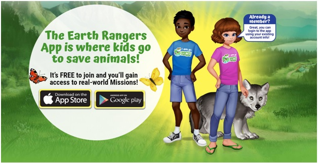 earth rangers app