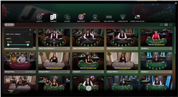 Live casino Canada Games