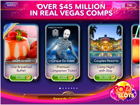 Pop slots real vegas casino bonus
