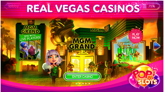 pop slots- real vegas casino