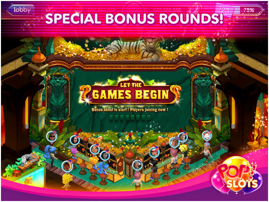pop slots- special bonus rounds