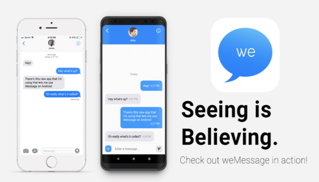 weMessage for Android